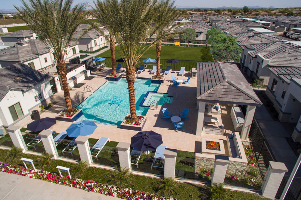 View the amenities at Christopher Todd Communities At Estrella Commons in Goodyear, Arizona