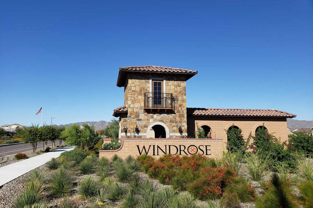 View the neighborhood information at Las Casas at Windrose in Litchfield Park, Arizona