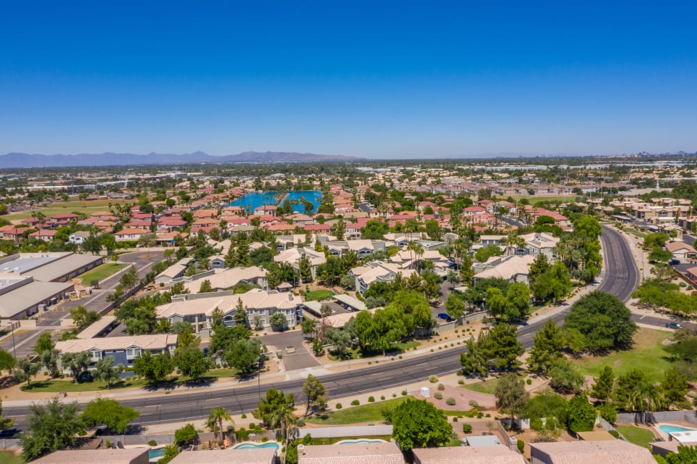 View the neighborhood information at The Sterling in Gilbert, Arizona
