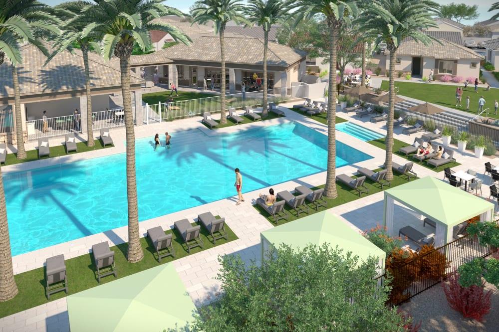 View amenities at Tavalo at Cadence in Mesa, Arizona