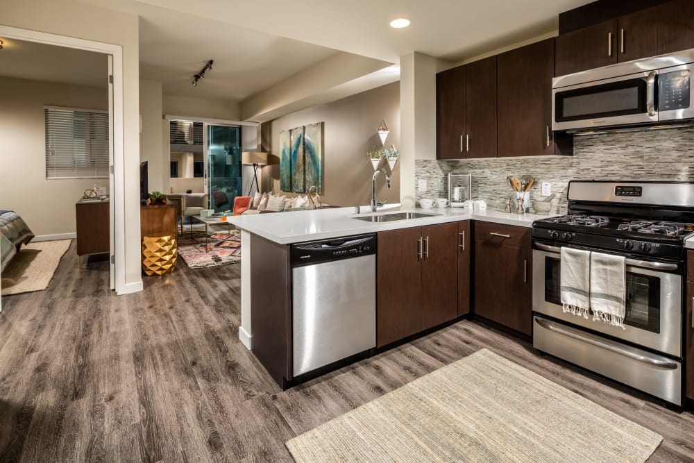 Berkshire K2LA model kitchen