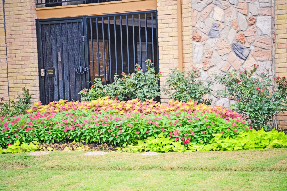 We care about our landscapes at Sandpebble Apartments in Irving