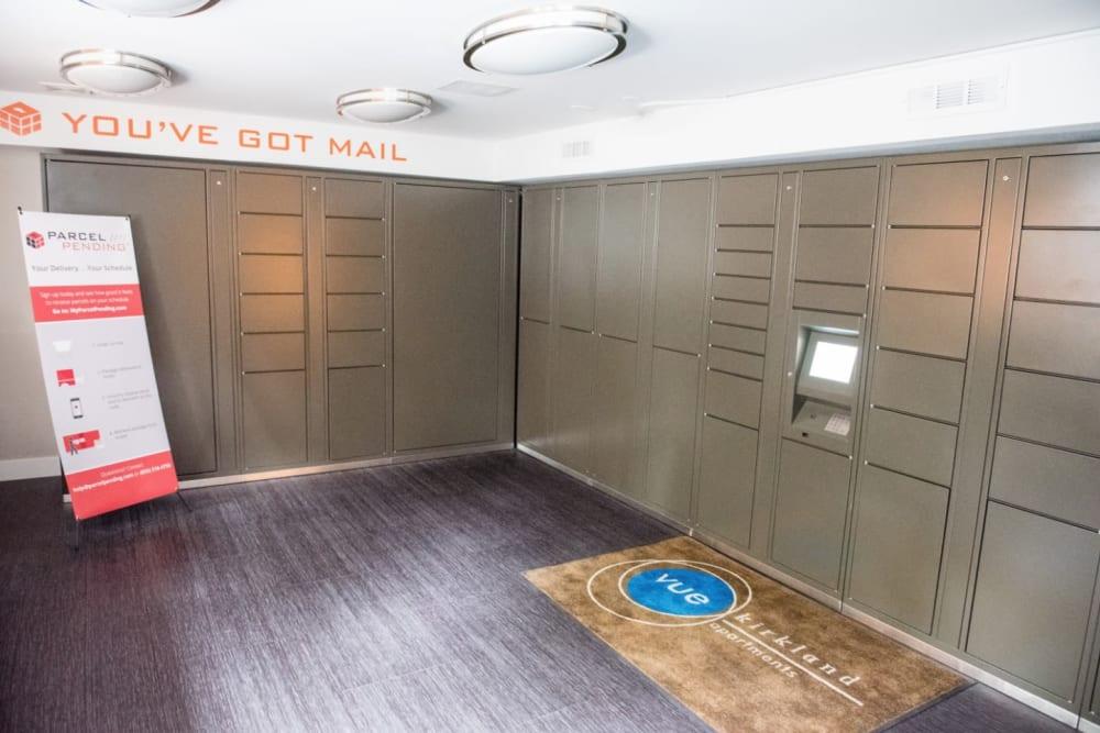 Package lockers in Kirkland, WA
