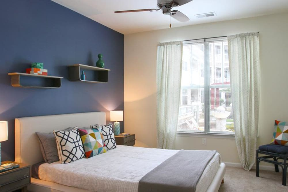 Enjoy a beautiful bedroom at Manor Six Forks