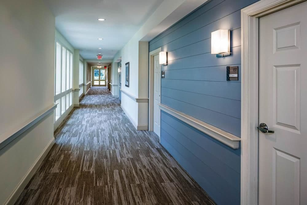 Hallway in West Yarmouth, Massachusetts