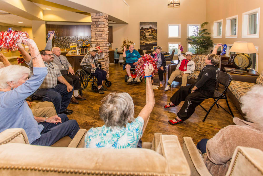 Life enrichment programs at Park Wood Retirement Community are great!