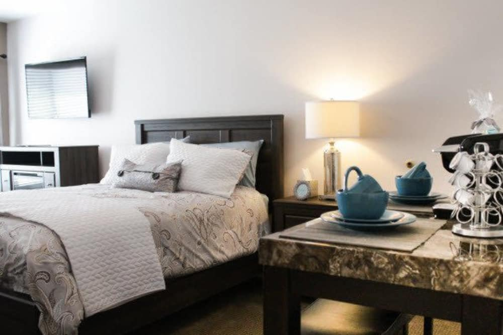 Enjoy your own private apartment at The Wentworth of Las Vegas