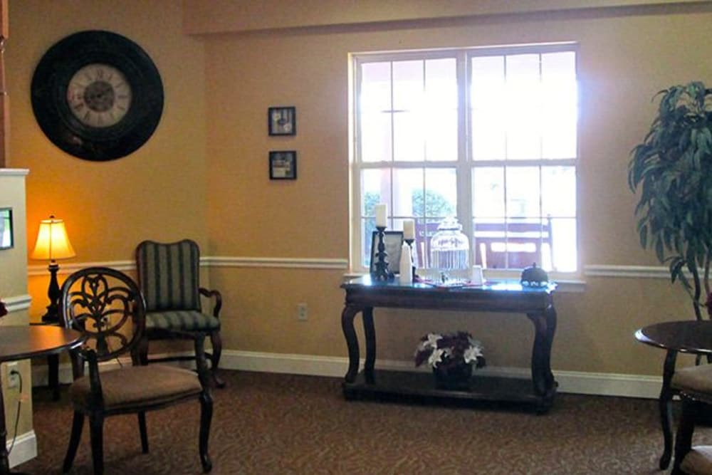 Interior design at Tranquillity at Fredericktowne