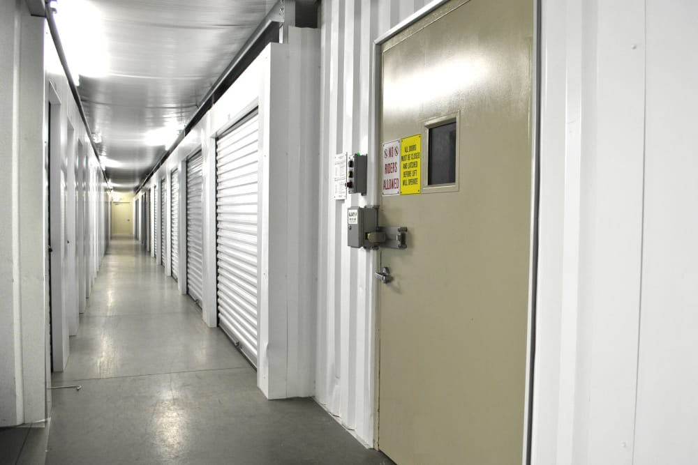 Wide variety of storage units at CT SELF STOR in West Hartford