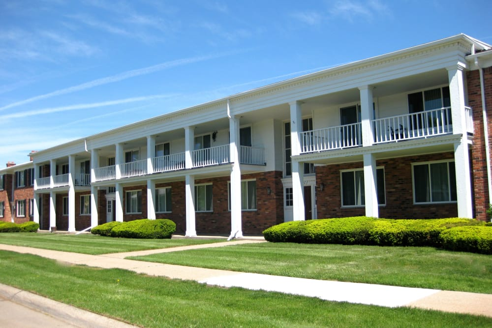 Apartments for rent at The Meadows on Balfour in Harper Woods, MI