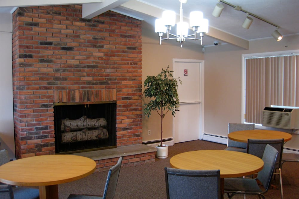 The Meadows on Balfour clubhouse interior in Harper Woods, MI