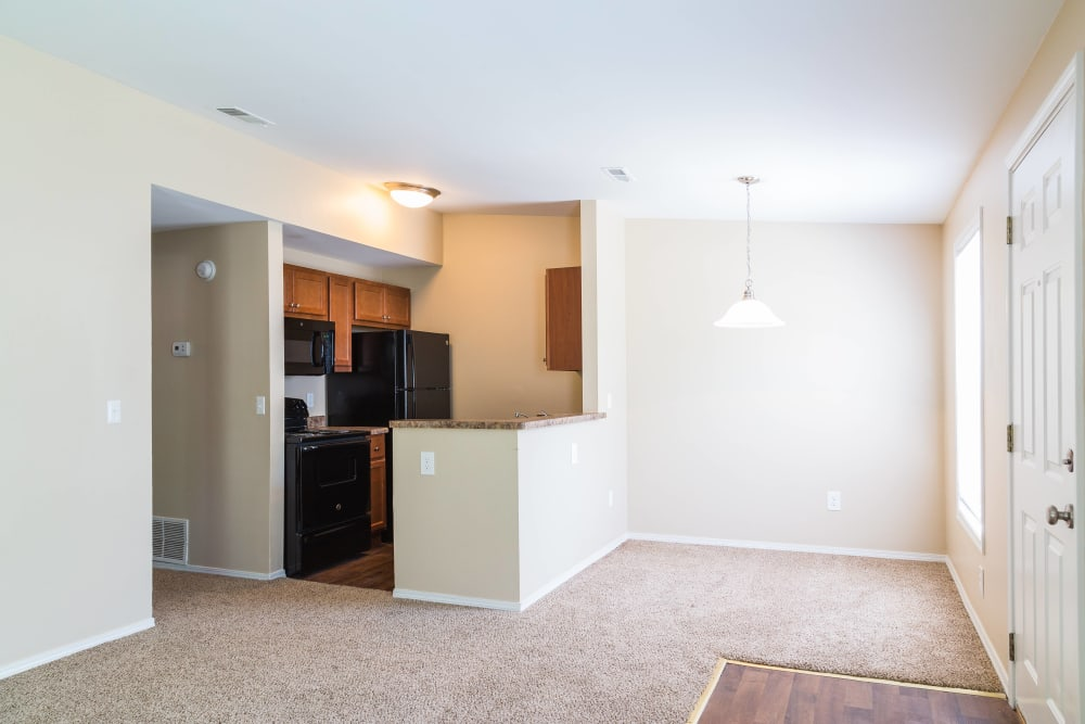 Ample living space at The Meadows in Ypsilanti