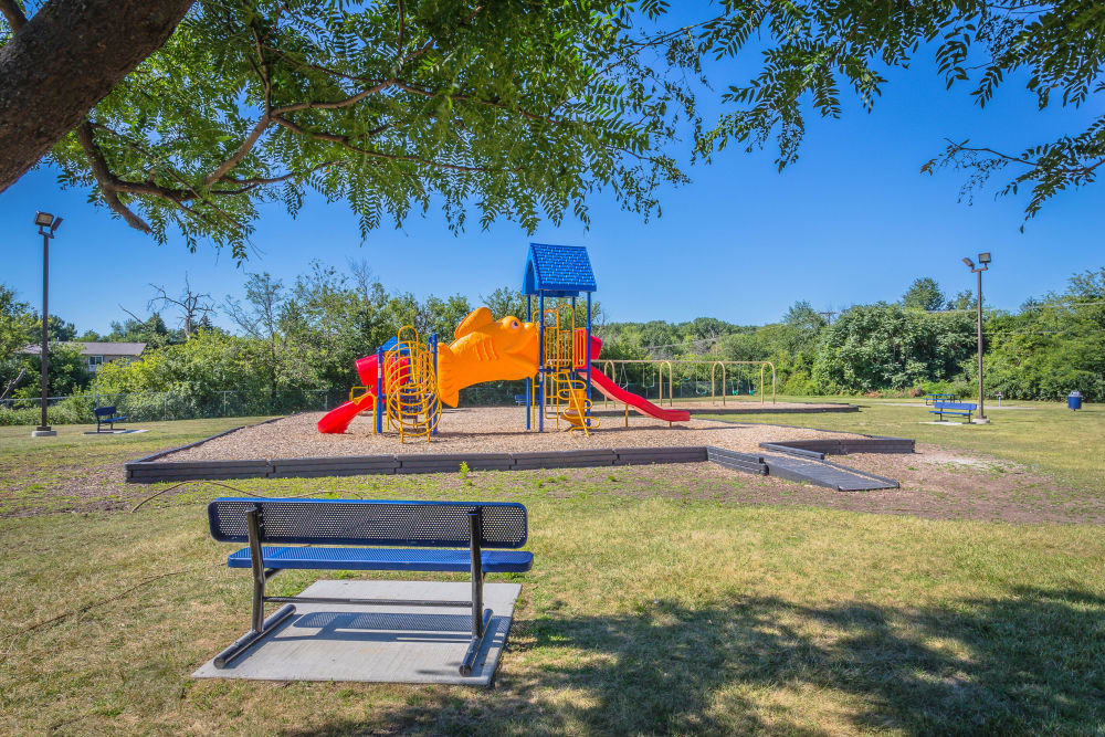 Playground at Chestnut Lake in Ypsilanti, MI