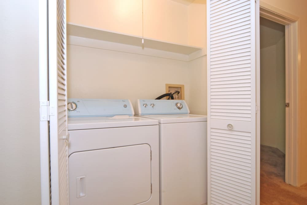 Washer and Dryer Furnished at Greens at Schumaker Pond in Salisbury, MD
