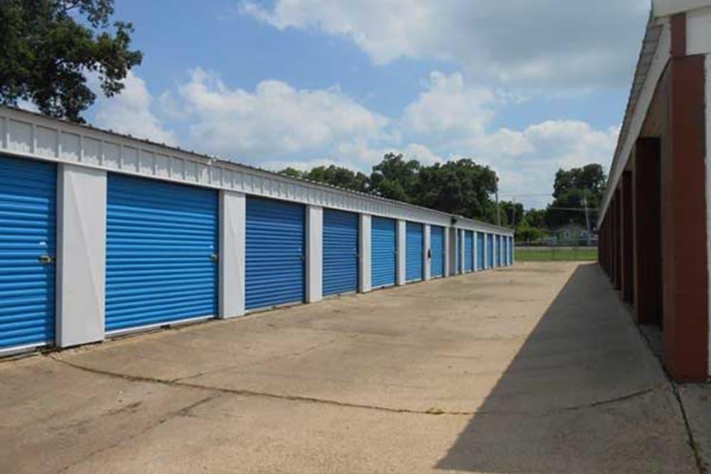 Spacious storage units in Bossier City, Louisiana