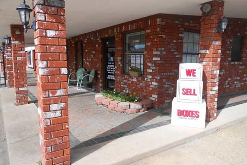 BarksdaleSelf Storage office in Bossier City, Louisiana