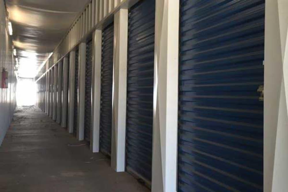 BarksdaleSelf Storage indoor units.