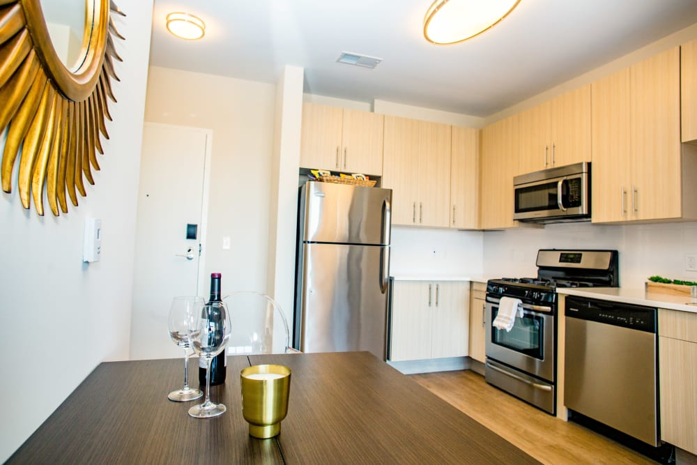 Entertain guests at your Bedford Hall apartment