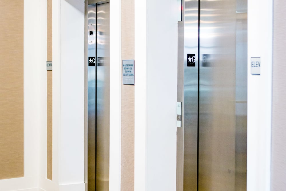 Easy access to your unit at Bedford Hall with elevators