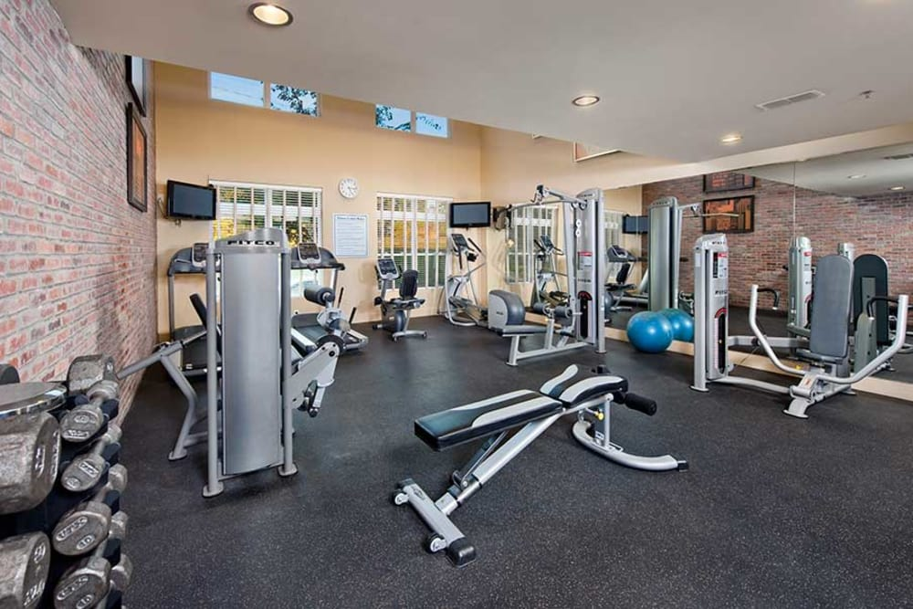 A fully equipped gym is for your health at The Atlantic Aerotropolis