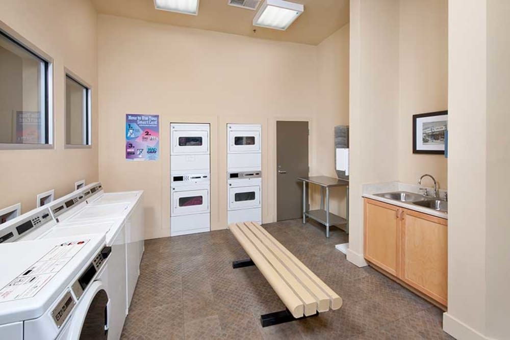 On-site laundry room for your convenience at The Atlantic Aerotropolis