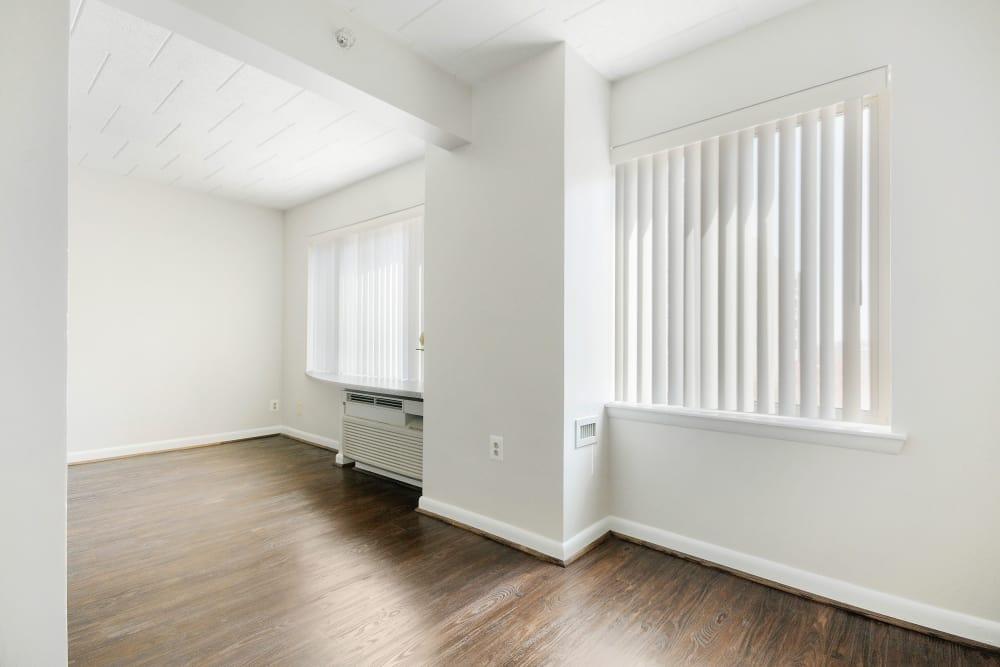Studio apartment at Edgewood Commons