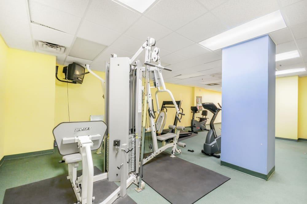 Grace Place Apartments fitness center