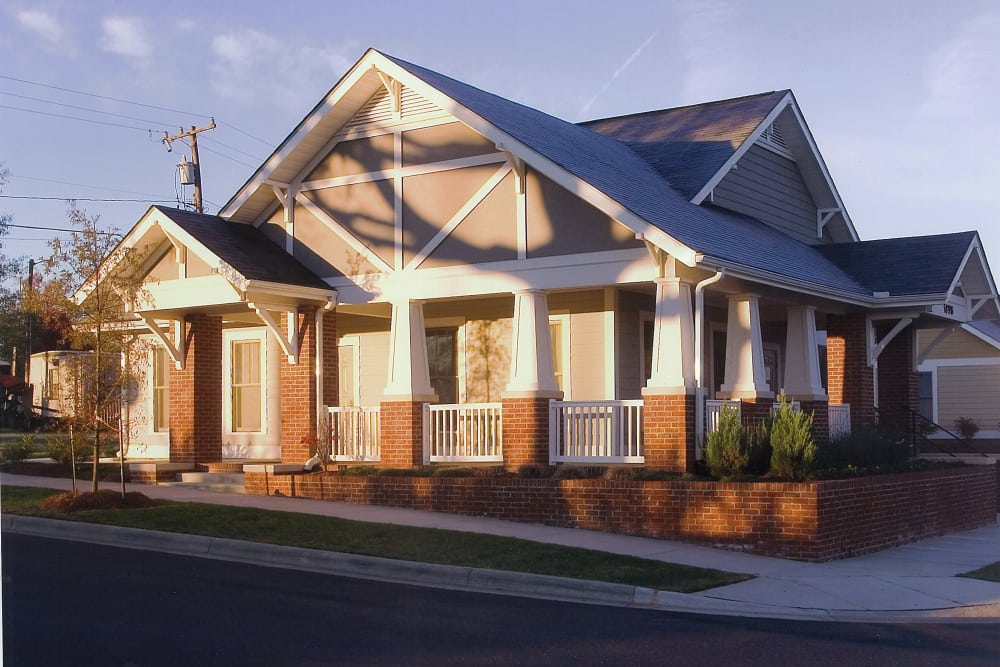 Willow Oaks Townhomes clubhouse
