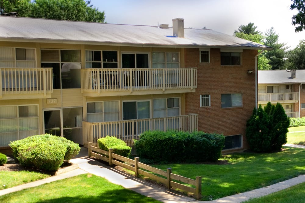 Fireside Park Apartments offers private balconies