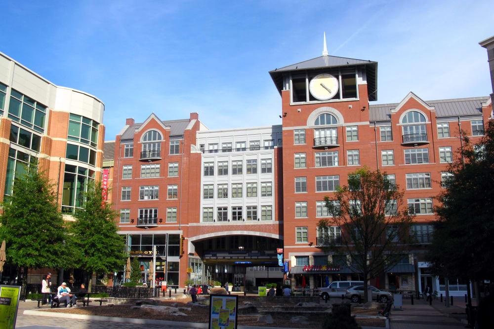 Town center near Fireside Park Apartments