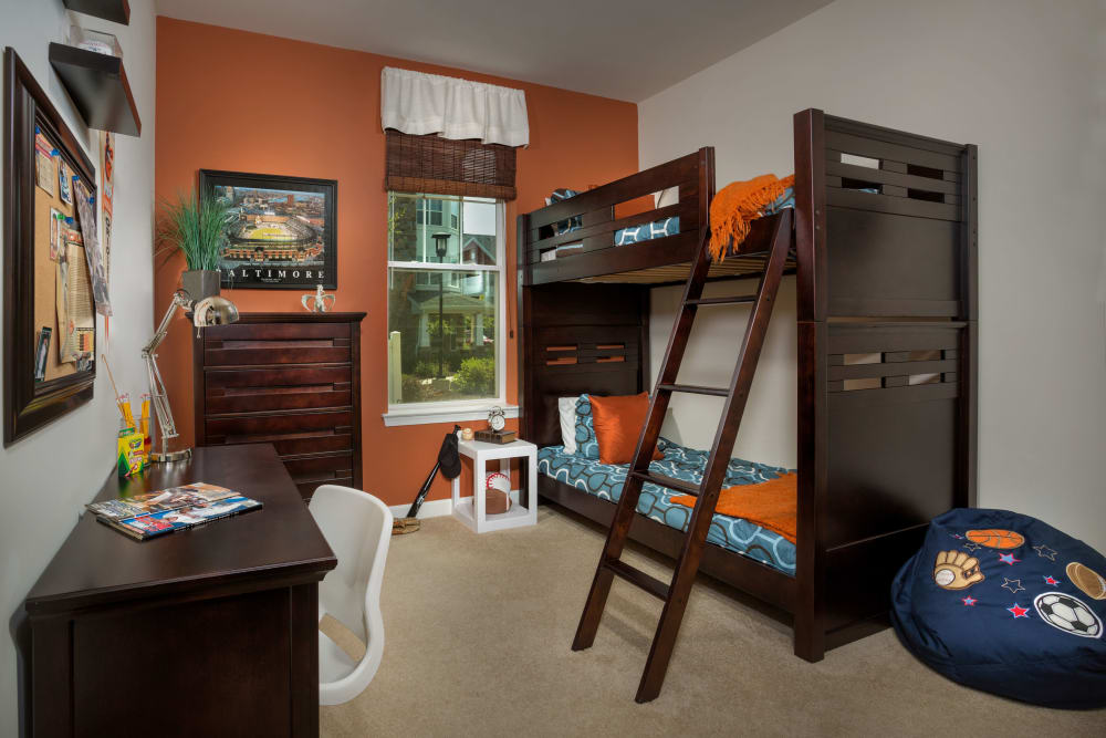 Bedroom at Monarch Mills
