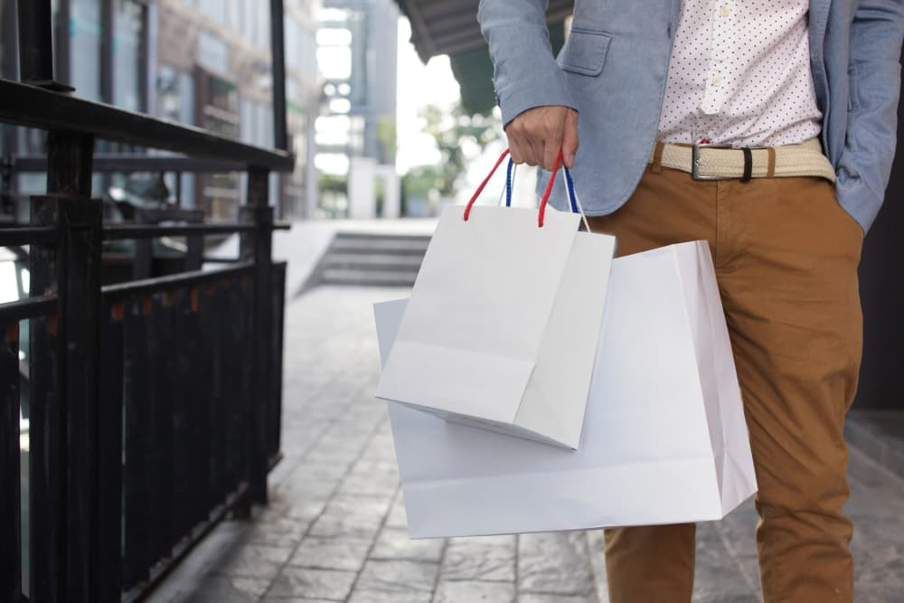 Upscale shopping near Parkchester Apartments