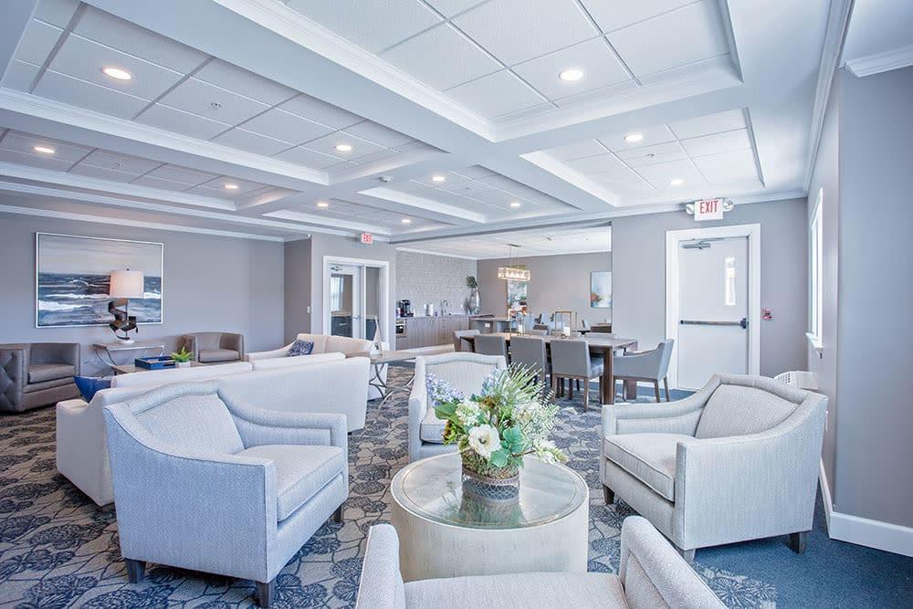 Beautiful clubhouse at Villa Capri Senior Apartments in Rochester, NY