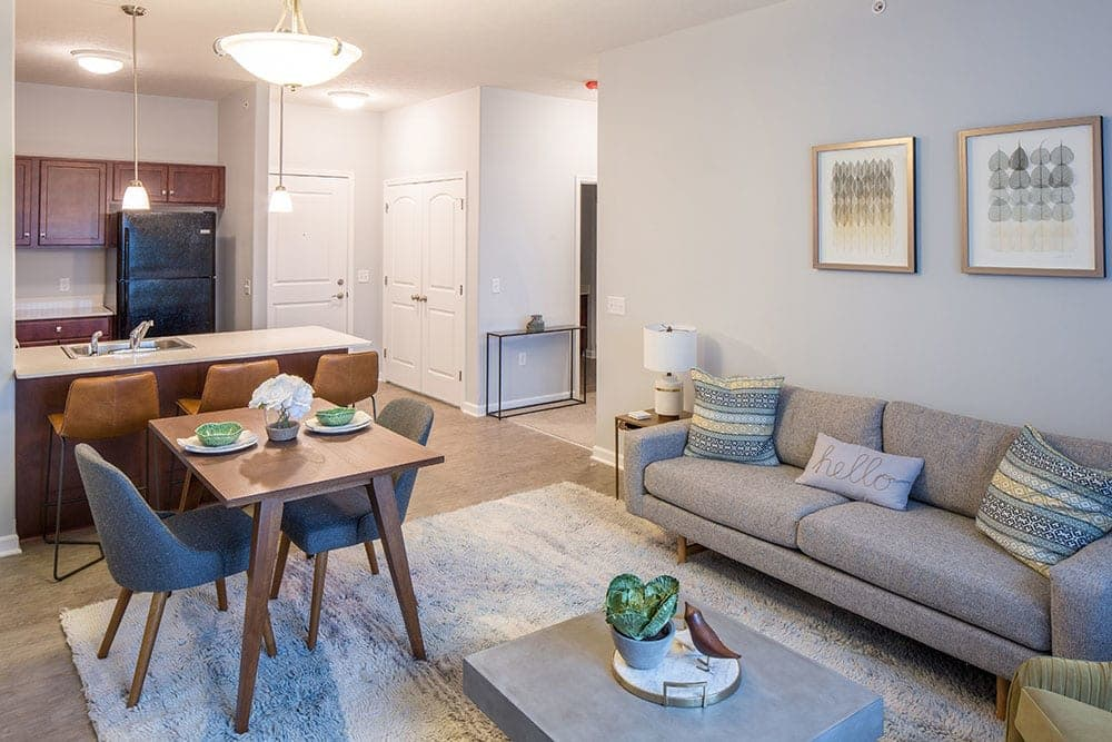 Ample living space at Villa Capri Senior Apartments in Rochester, NY