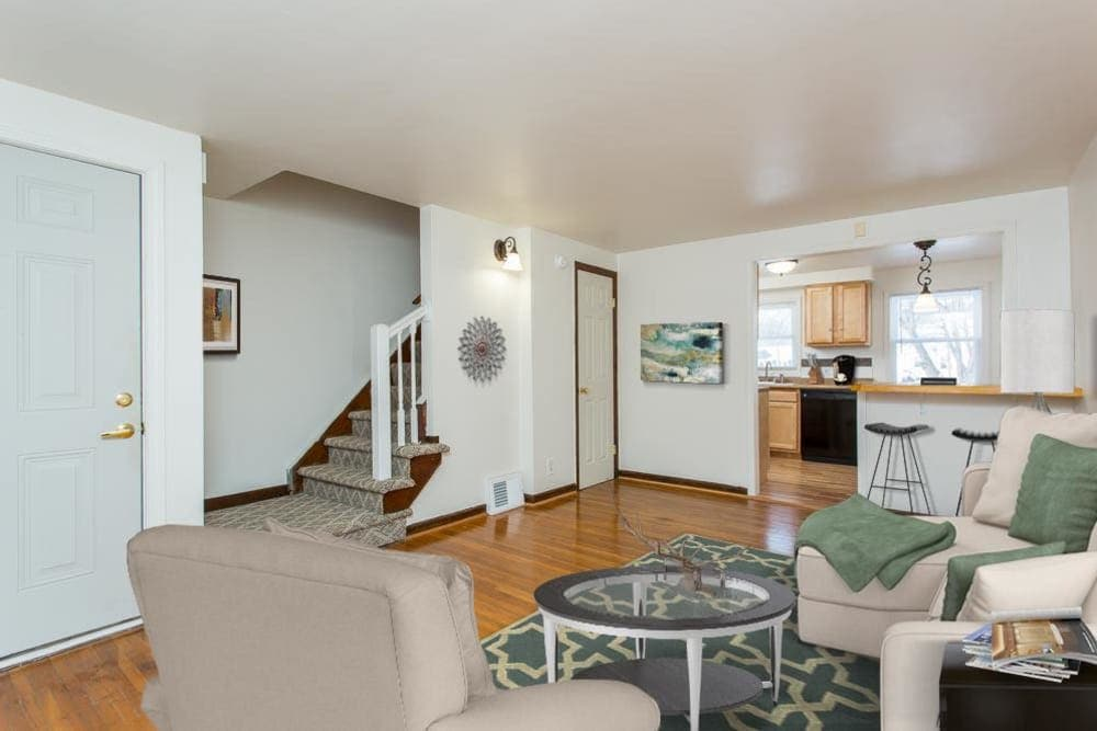 Ample living space in apartments at Park Place