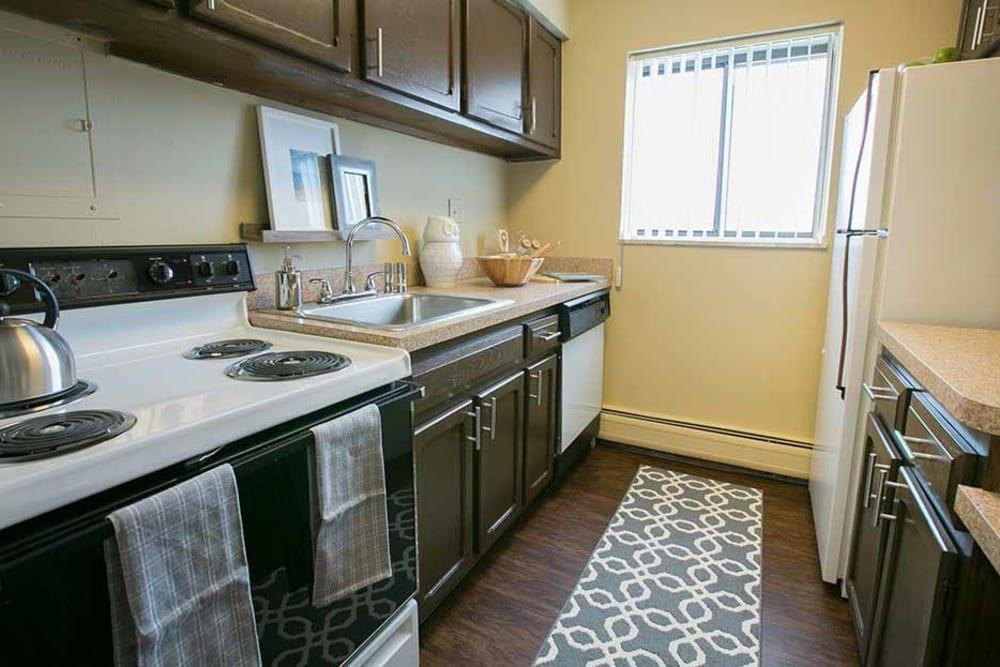 Bedroom at The Drake Apartments