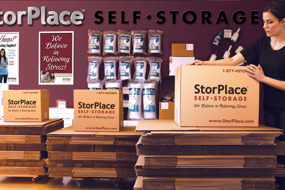 You can find all your packing supplies at StorPlace of Medical Center in Nashville, Tennessee