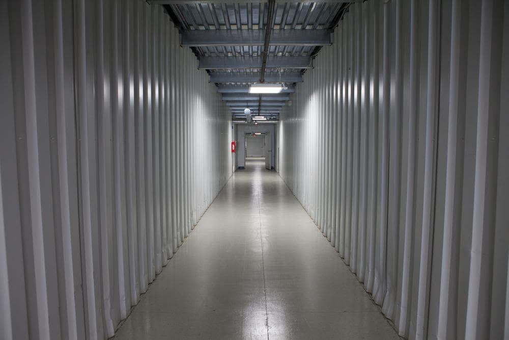 Interior building at Atlantic Self Storage, in Jacksonville