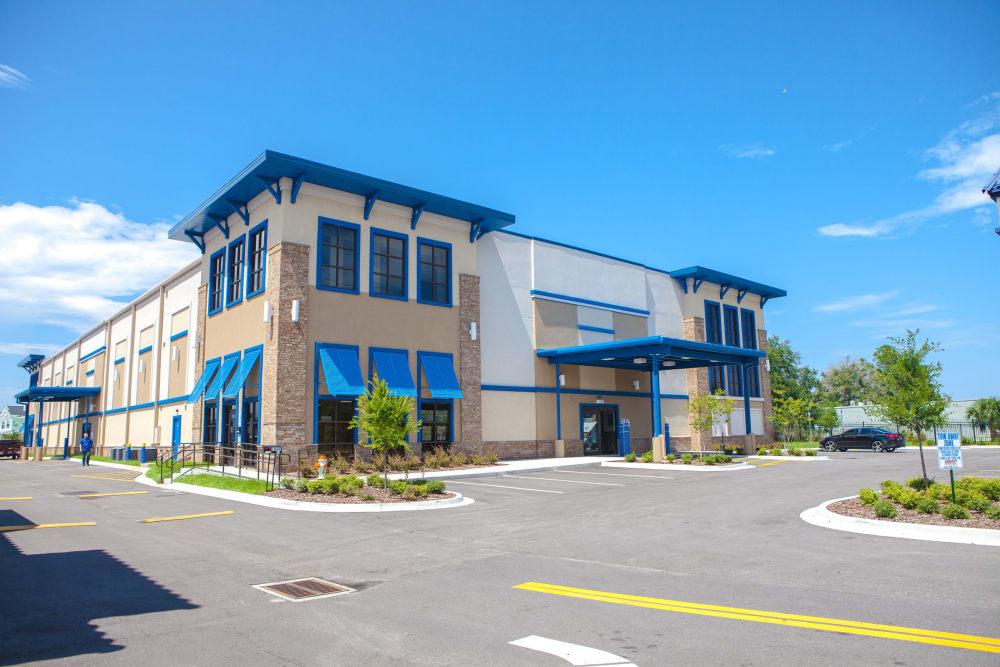 Exterior of Atlantic Self Storage facility in Atlantic Beach, FL