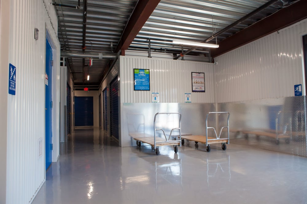 Dollies and carts are available for your use at Atlantic Self Storage in Atlantic Beach, FL