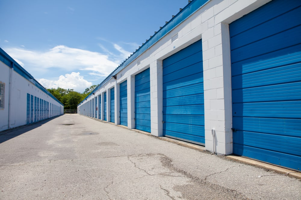 Atlantic Self Storage drive-up units