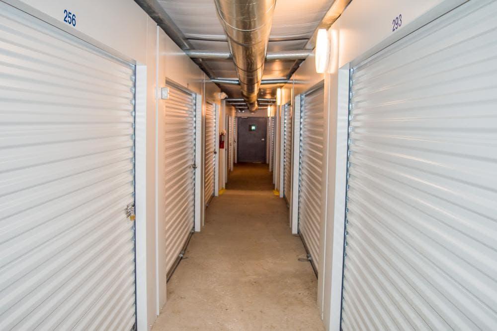 Inside storage at Atlantic Self Storage, in Callahan