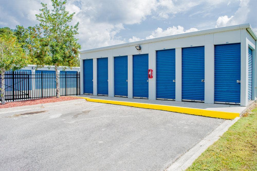 Storage rooms at Atlantic Self Storage, in Callahan