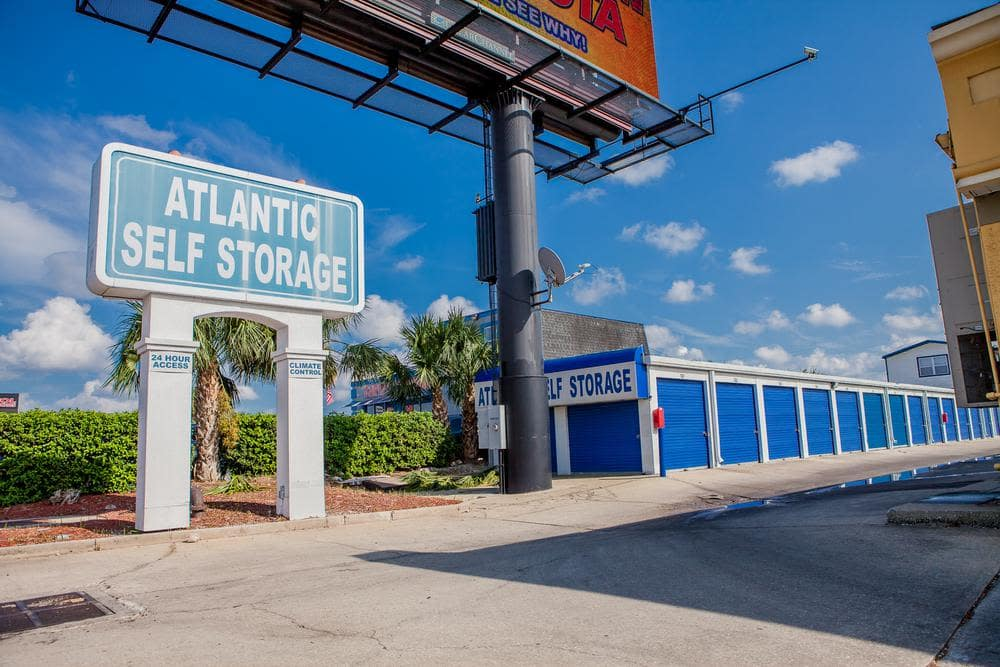 Exterior units at Atlantic Self Storage