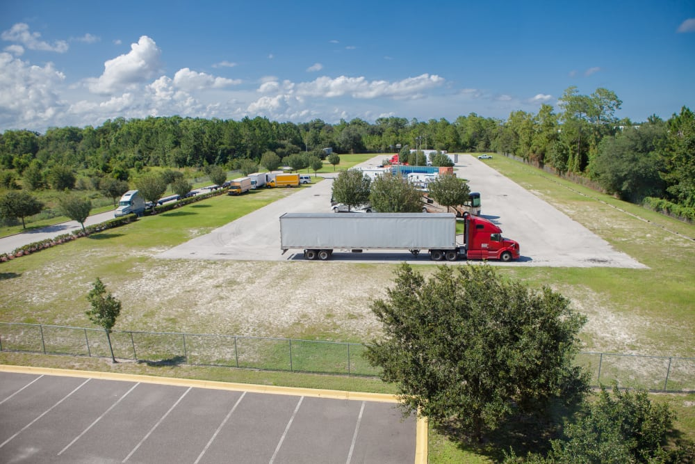 Ariel view of Atlantic Self Storage