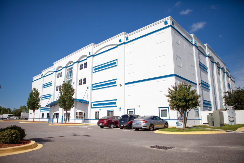 Atlantic Self Storage facade