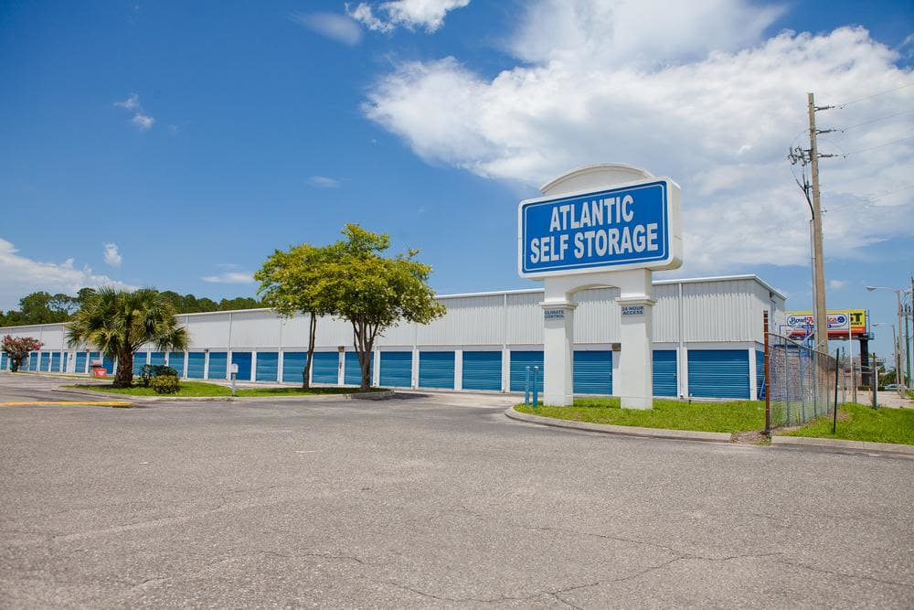 We offer amplious sotrage units at Atlantic Self Storage