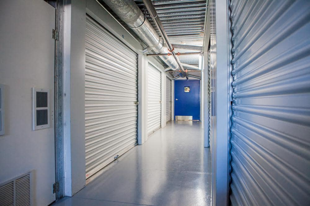 We also offer interior units at Atlantic Self Storage