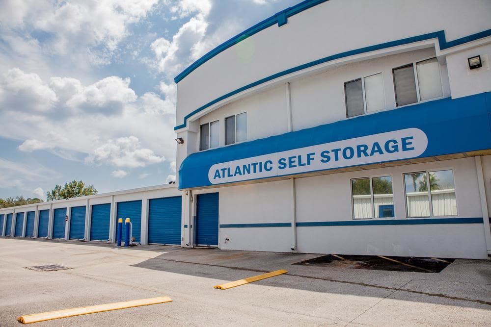 Front building at Atlantic Self Storage