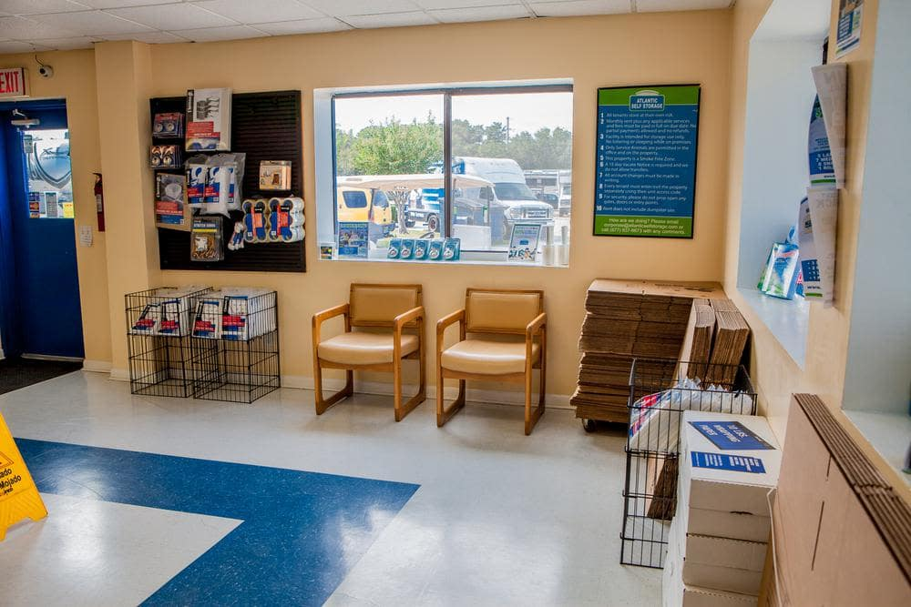 We offer different kinds of moving supplies at Atlantic Self Storage, in Jacksonville